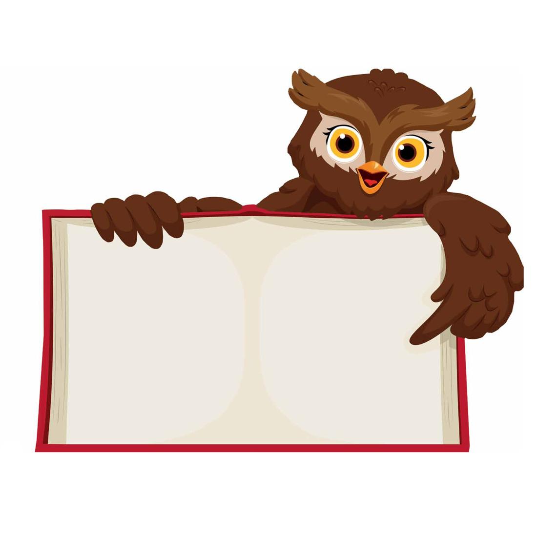 дружеские картинка для презентации сова с книгой факелов
